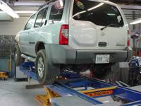 auto body work on an suv